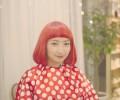 草間彌生 ショートボブ 真っ赤っ赤 コスプレイヤー彩乃